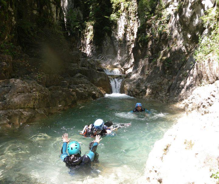 Barranco Aigueta de Barbaruens en el Pirineo