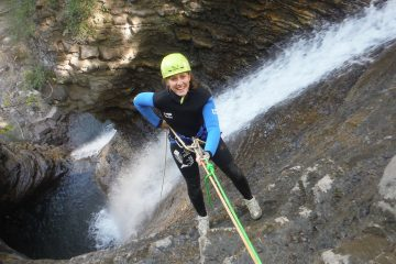 Canyoning in Torla Barranco el Furco