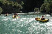 Canoas Rio Esera descenso guiado