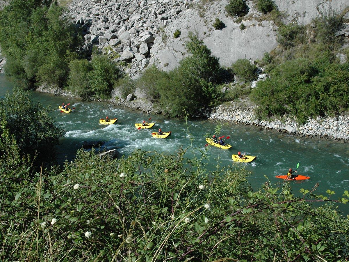 Canoas Rio Esera
