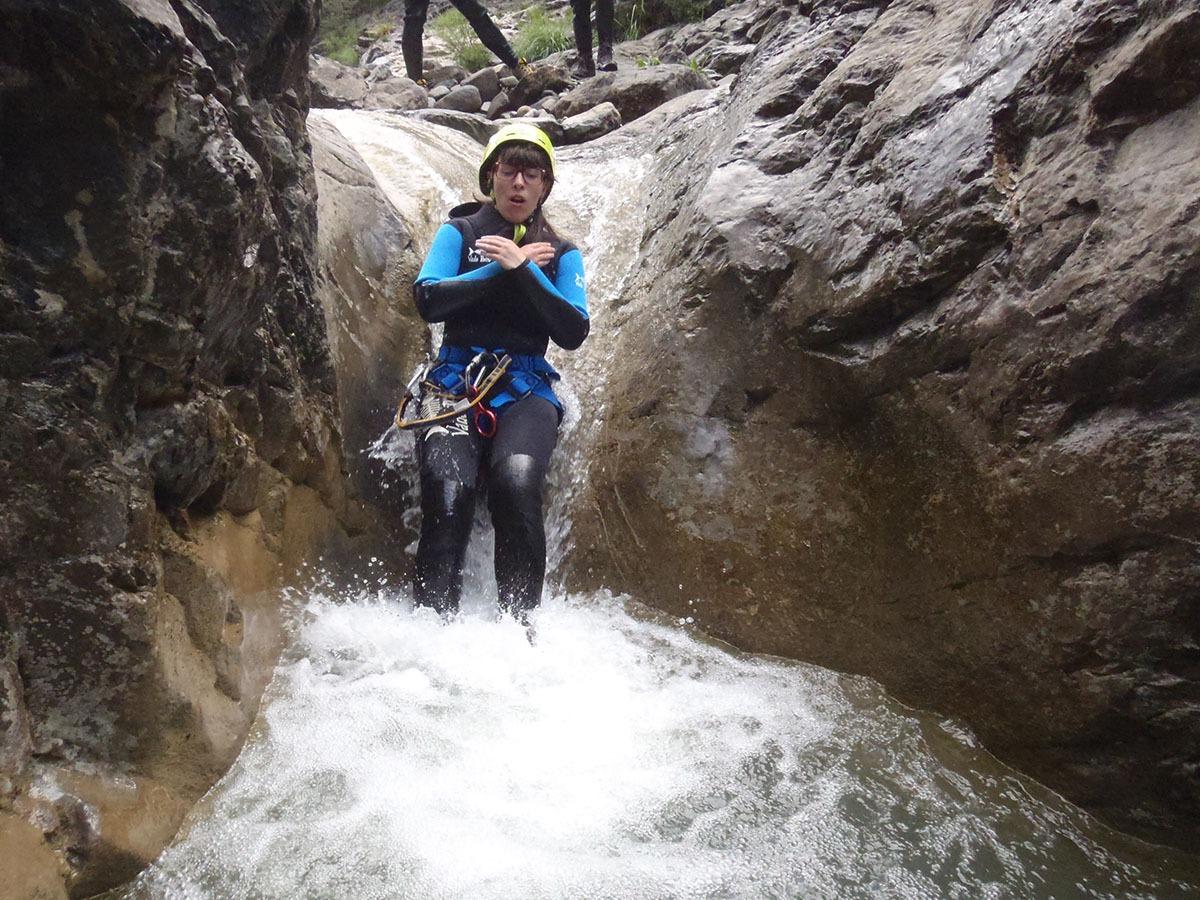 Descenso Barranco de Las Gloces Sierra de Guara