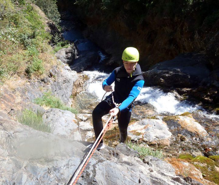 Descenso Barranco Otal en Ordesa