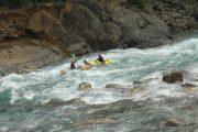 Descenso Canoas Rio Ara Pirineo Aragones