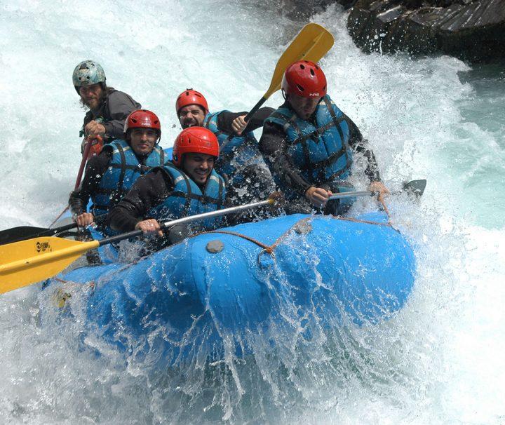 Descenso Rafting Rio Ara