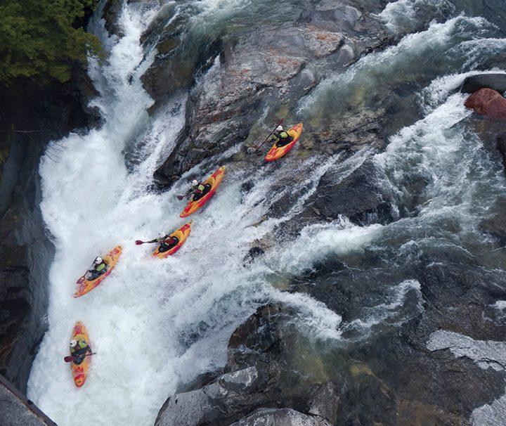 Descenso guiado de Kayak en Ordesa