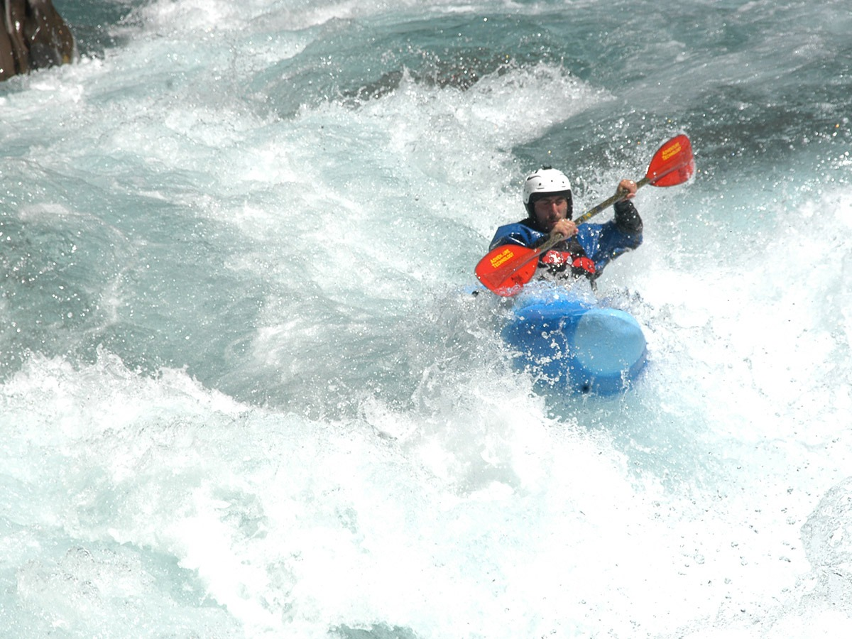 Kayak with Torla Guides