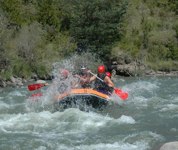 Rafting en el rio Esera Guias de Torla