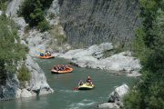 Rafting en el rio Esera el Pirineo