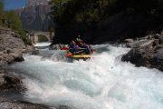 Rafting guiado en el Rio Ara