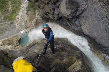 Canyoning of Level 4 in Ordesa and the Pyrenees