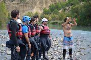 curso de iniciacion kayak guias torla ordesa