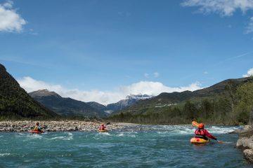 curso de perfeccionamiento kayak guias torla