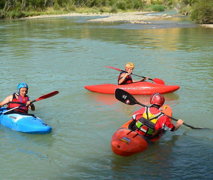 curso iniciacion al kayak