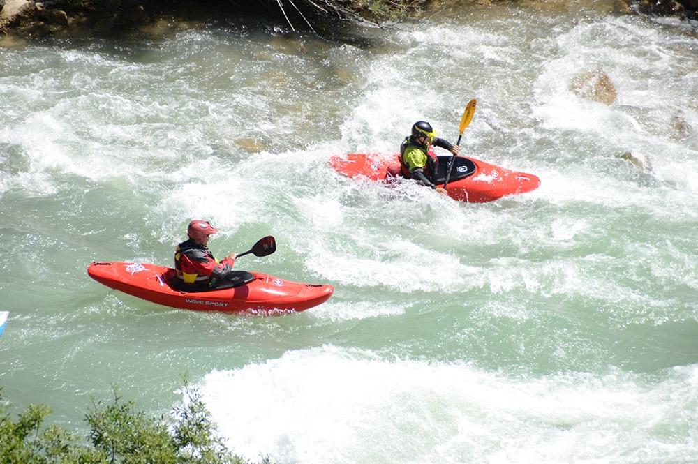 curso master kayak guias de torla