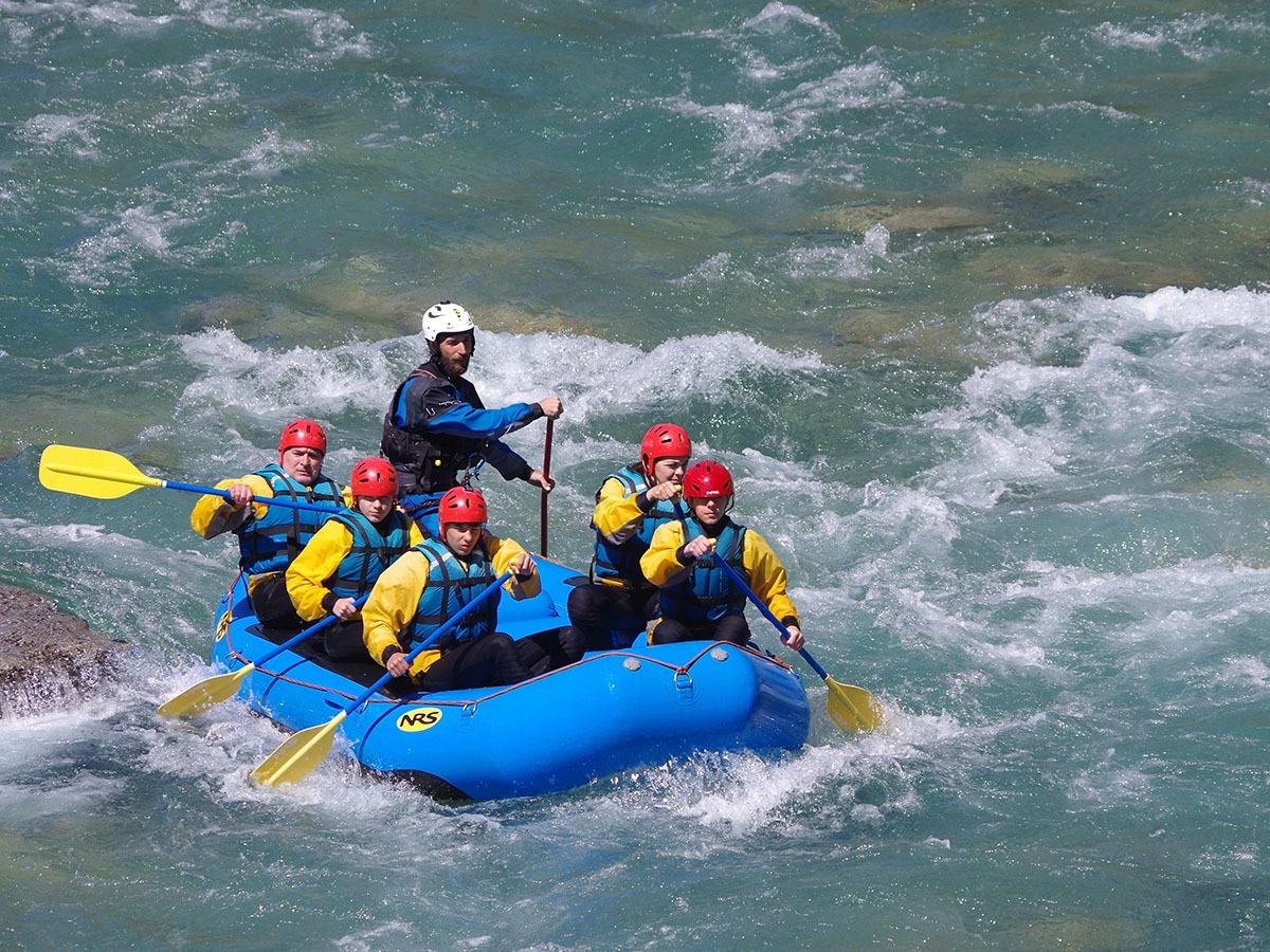 Abstieg Rafting Rio Esera