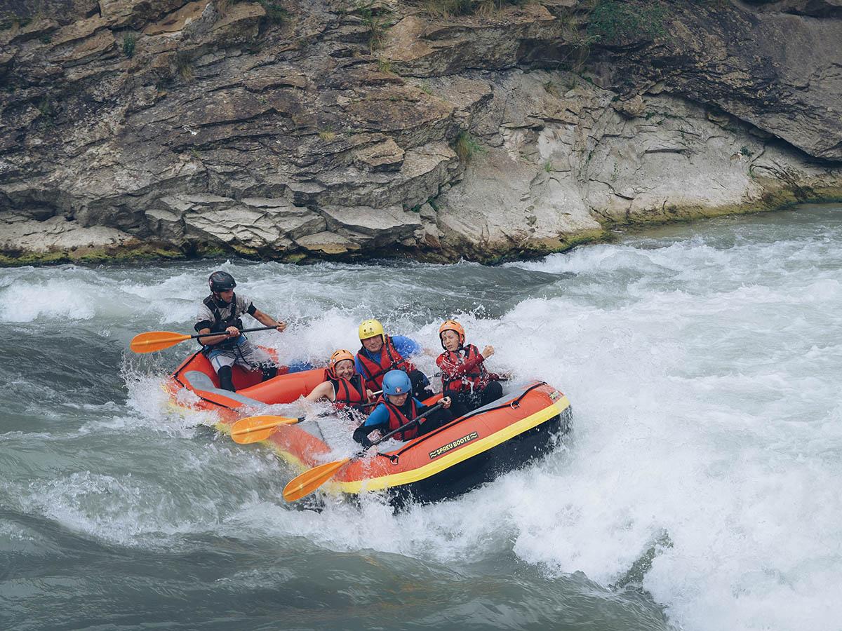 Rafting Rio Esera en Familia
