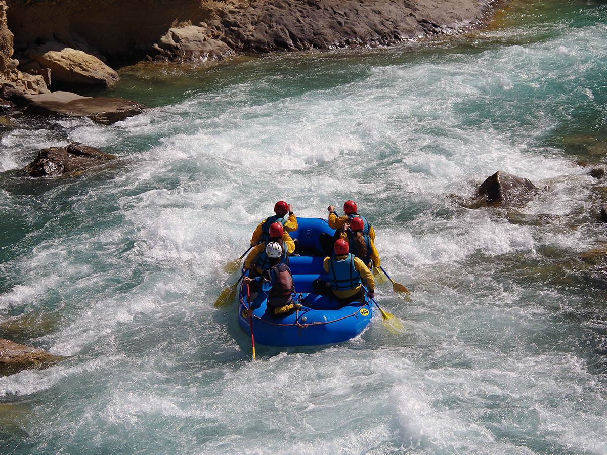 Rafting en el Rio Esera Campo Huesca