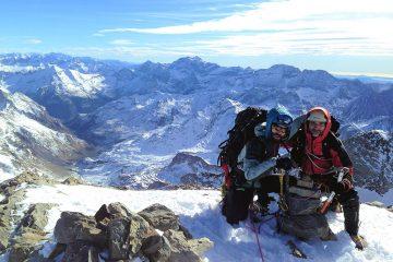 Winter Vignemale Aufstieg