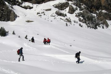 mountaineering initiation course