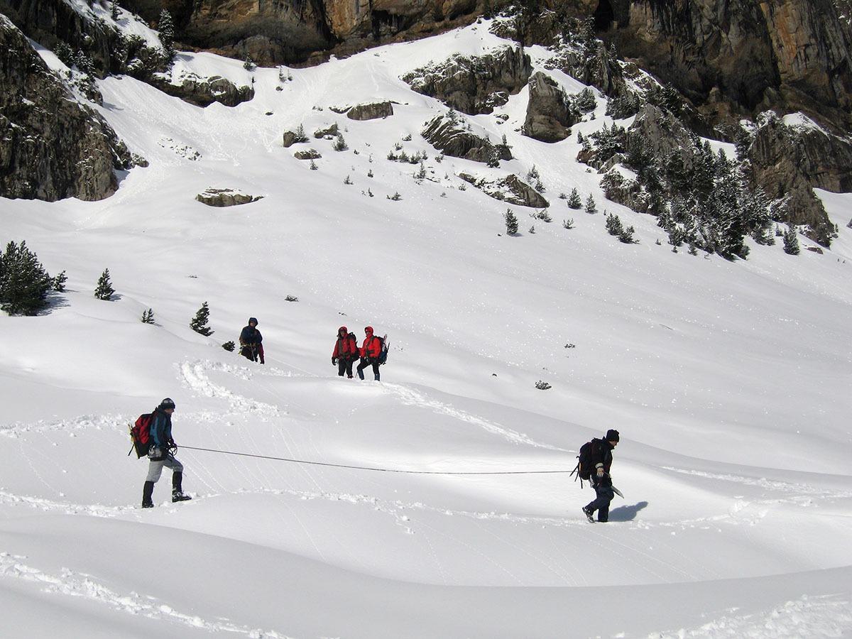 curso de iniciación alpinismo en pirineos con guías de torla ordesa