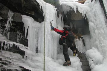 ice climbing torla guides course