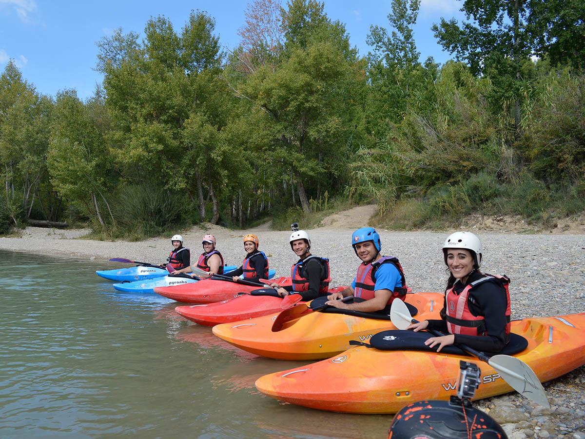 Kayak courses Guides de Torla