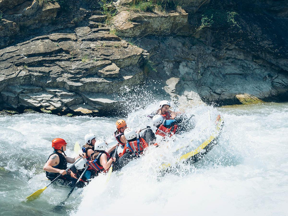 Family Rafting Rio Gallego Huesca