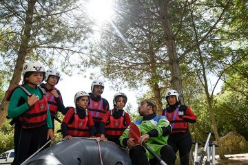Familie Rafting Rio Gallego Murillo