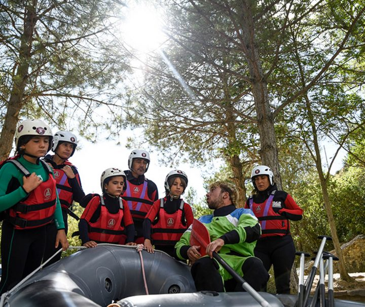 Rafting en Familia Rio Gallego Murillo