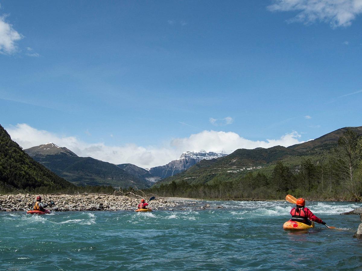 kayak courses rio esara campo