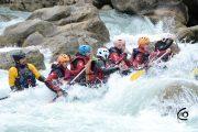 rafting guiado tramo clasico del gallego