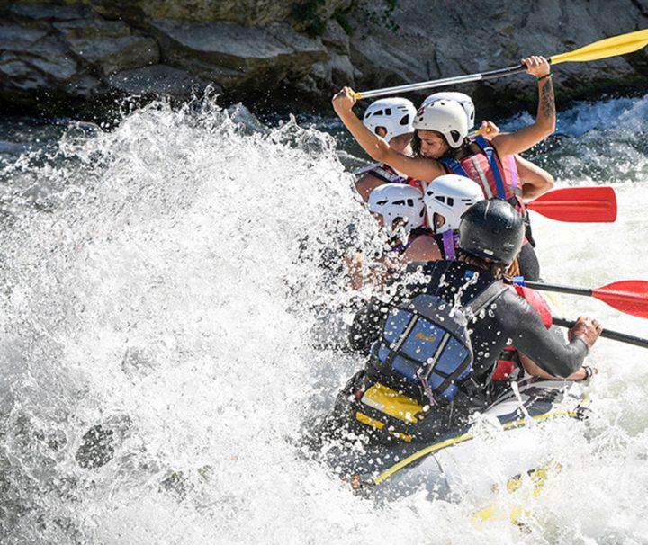 rafting guias de torla en el gallego