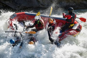 rafting guided classic section