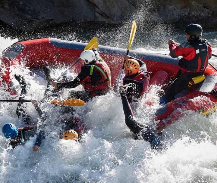 rafting tramo clasico guiado