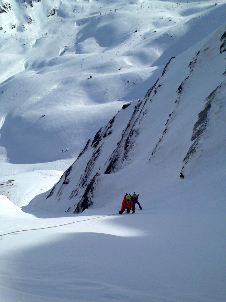 alpinismo en el valle de tena
