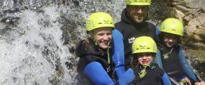 каньонинг в семействе guias de torla ordesa