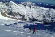 curso de esqui de montana