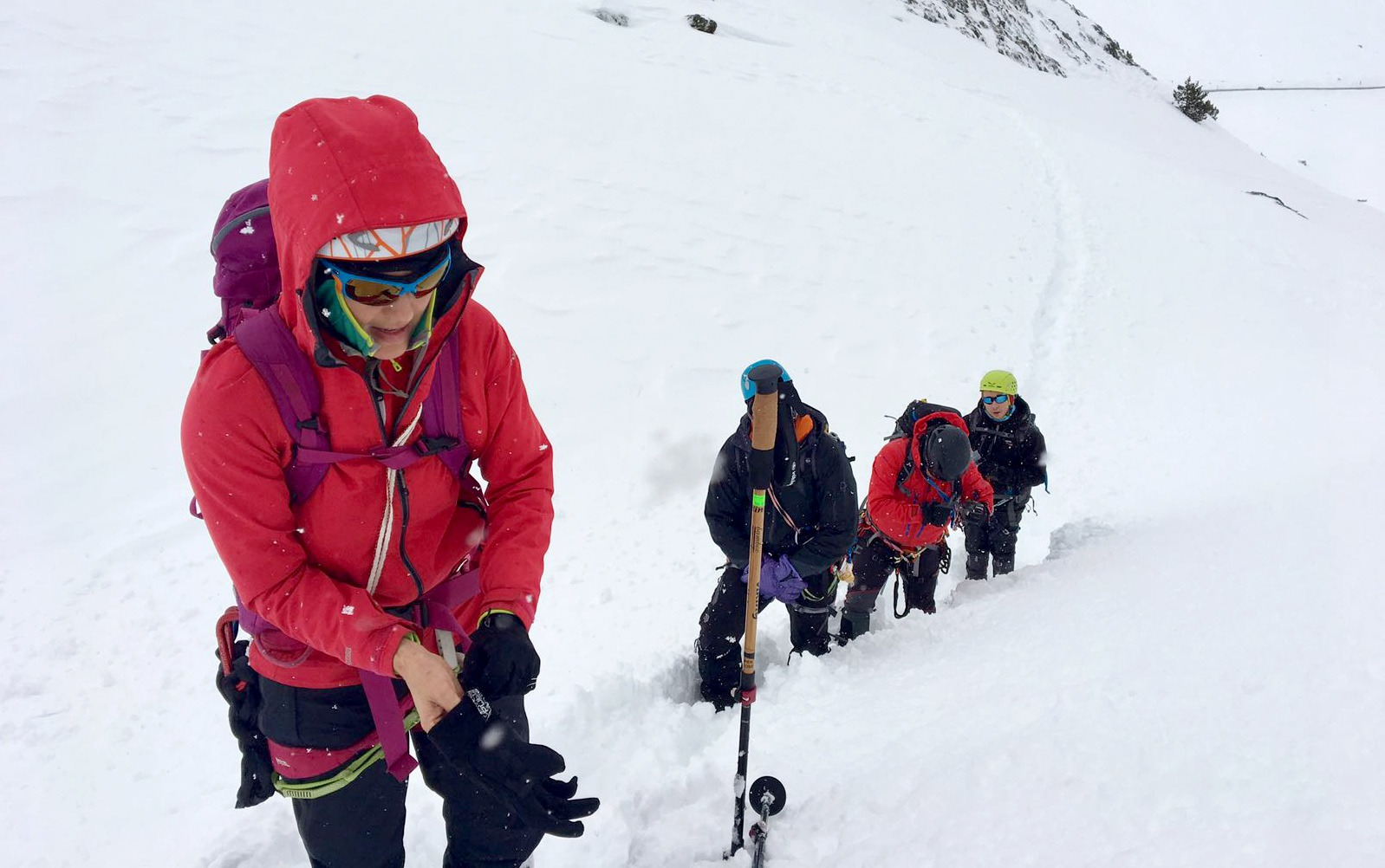 Mountaineering course in Pyrenees