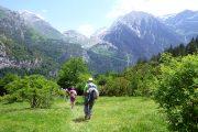 senderismo vuelta circular en el valle de bujaruelo