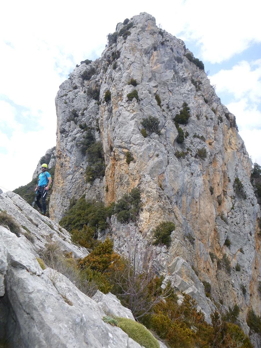 crestas y paresdes en picos de Europa