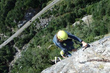 via ferrata santa elena en broto