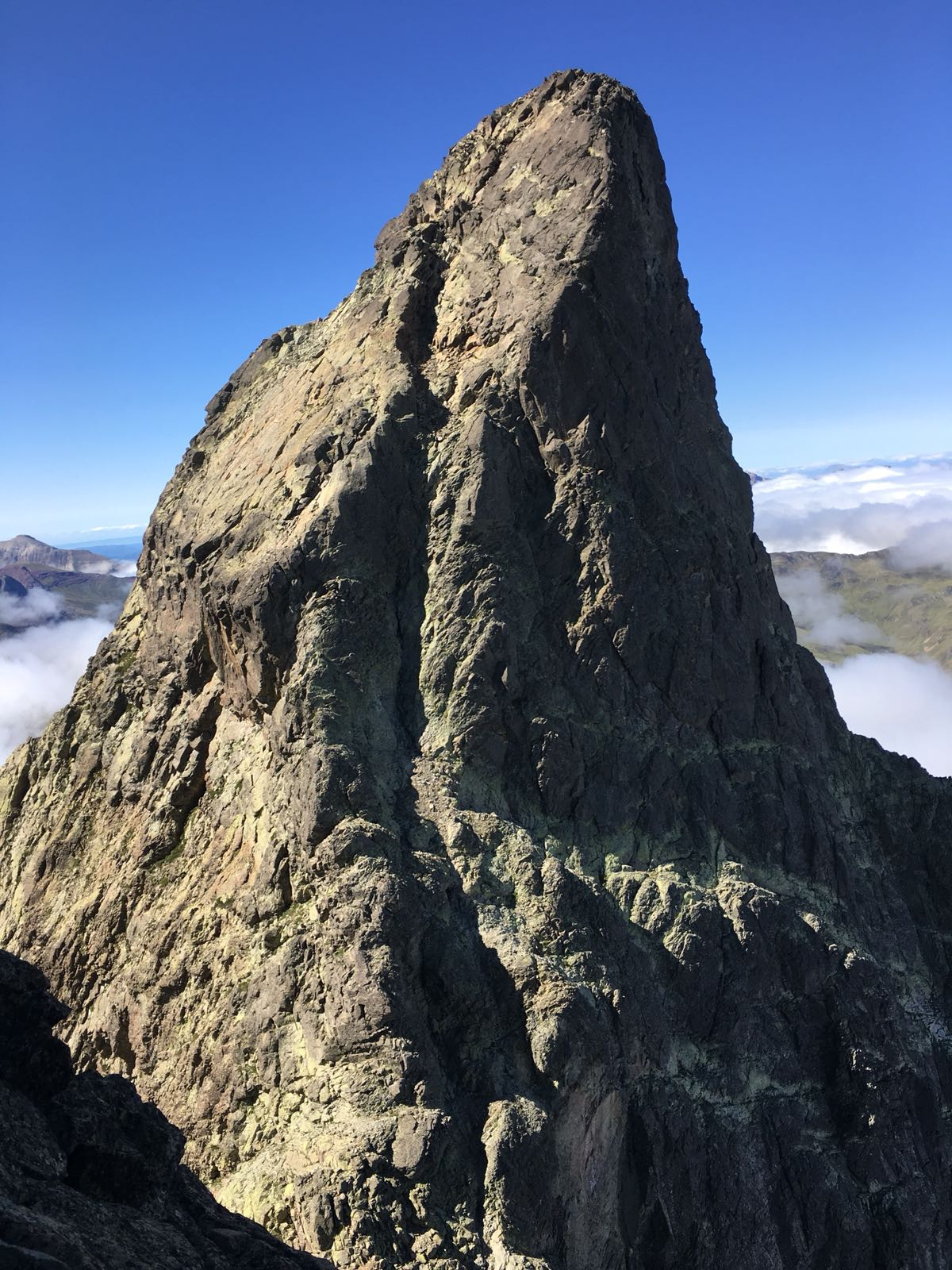escalada guiada en los pirineos