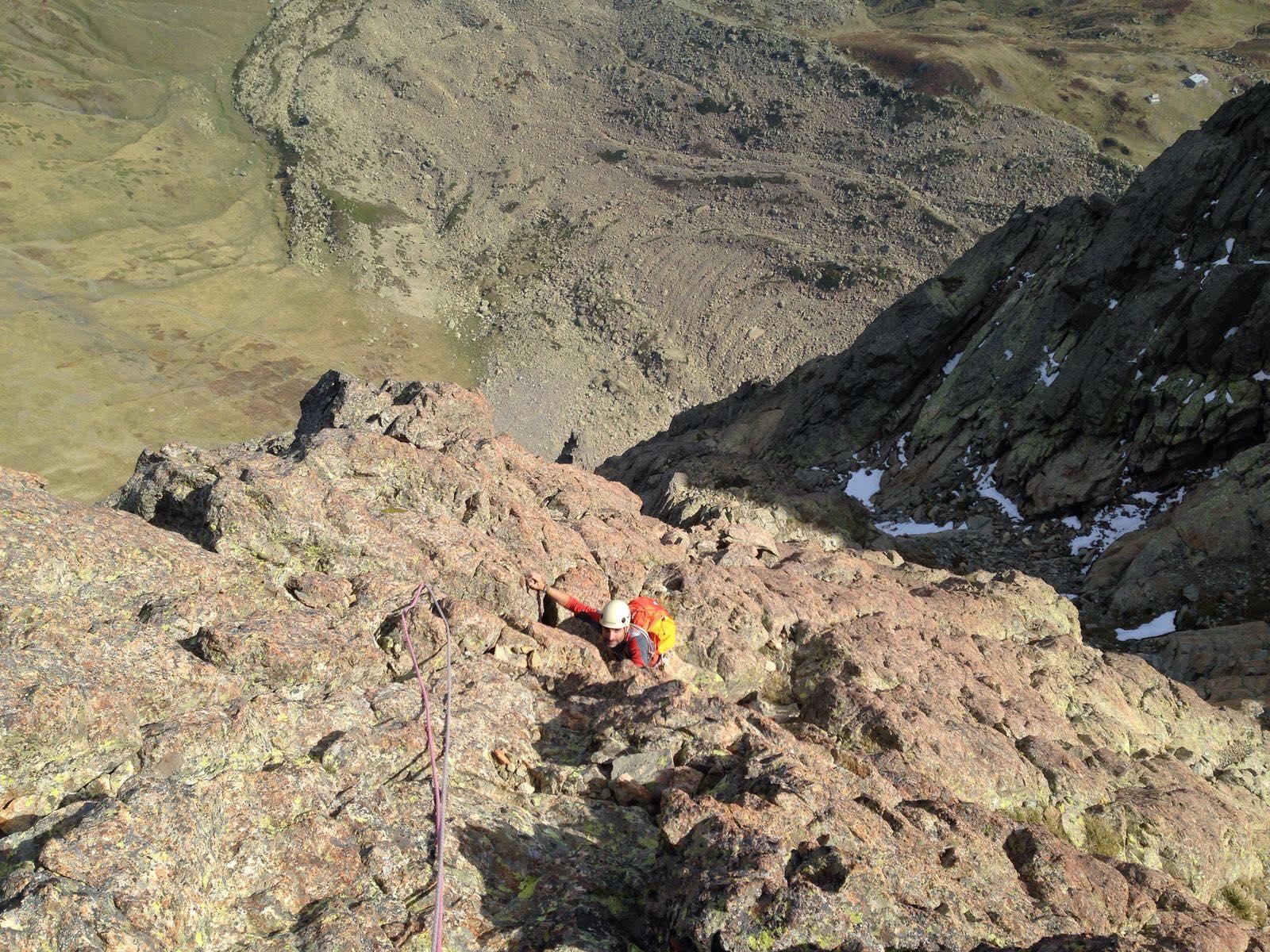 Escalada clásica guiada en torla-ordesa y los pirineos
