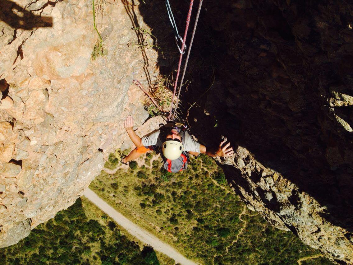 Cours d'escalade à Pirineos, Torla-Ordesa
