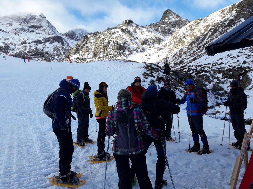 taller de avalanchas