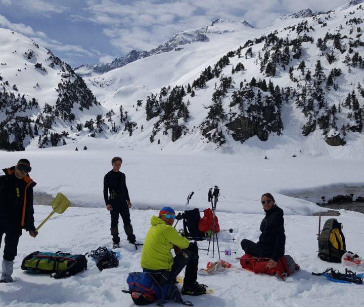 Atelier d'avalanche