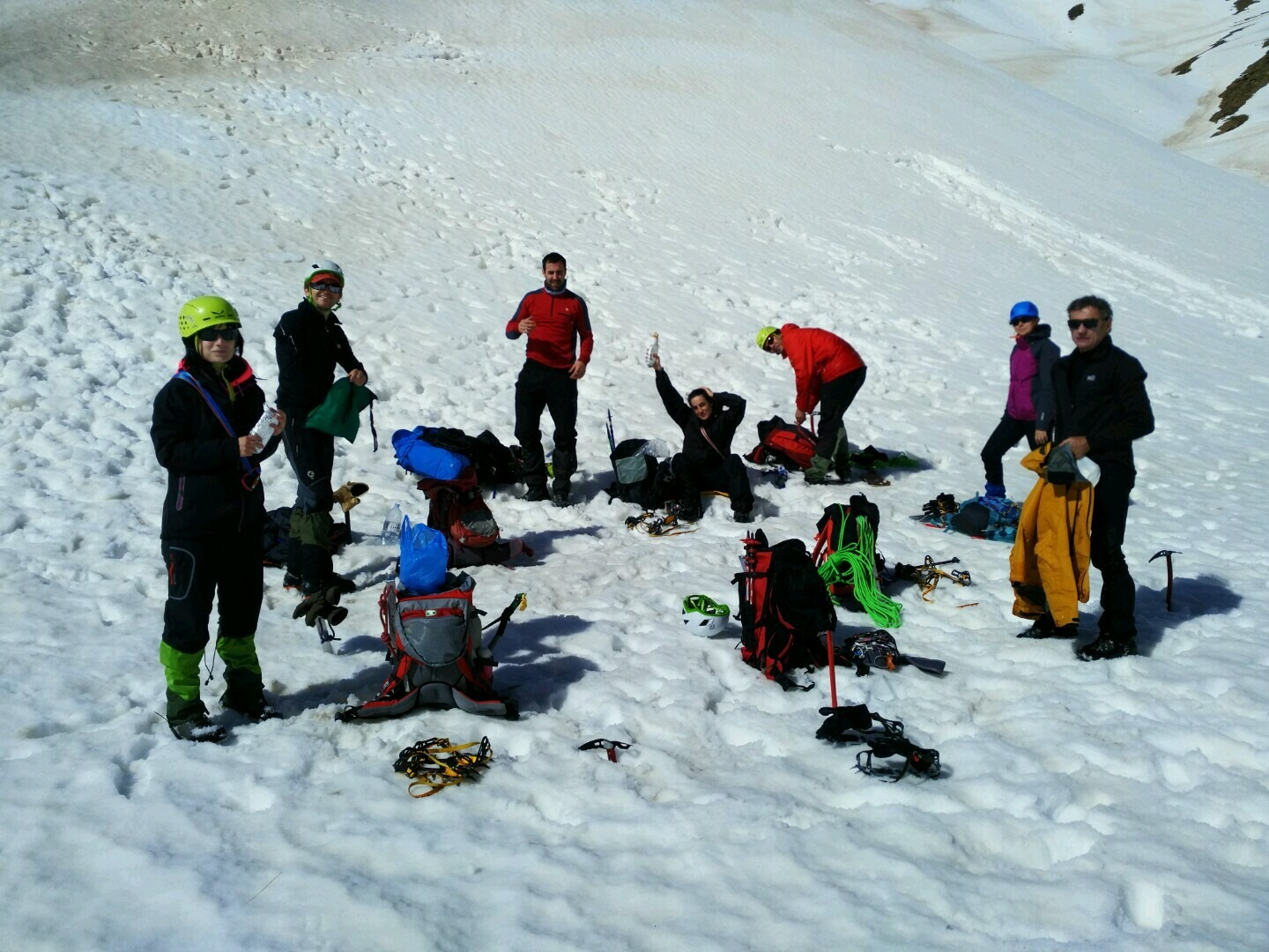 Mountaineering courses