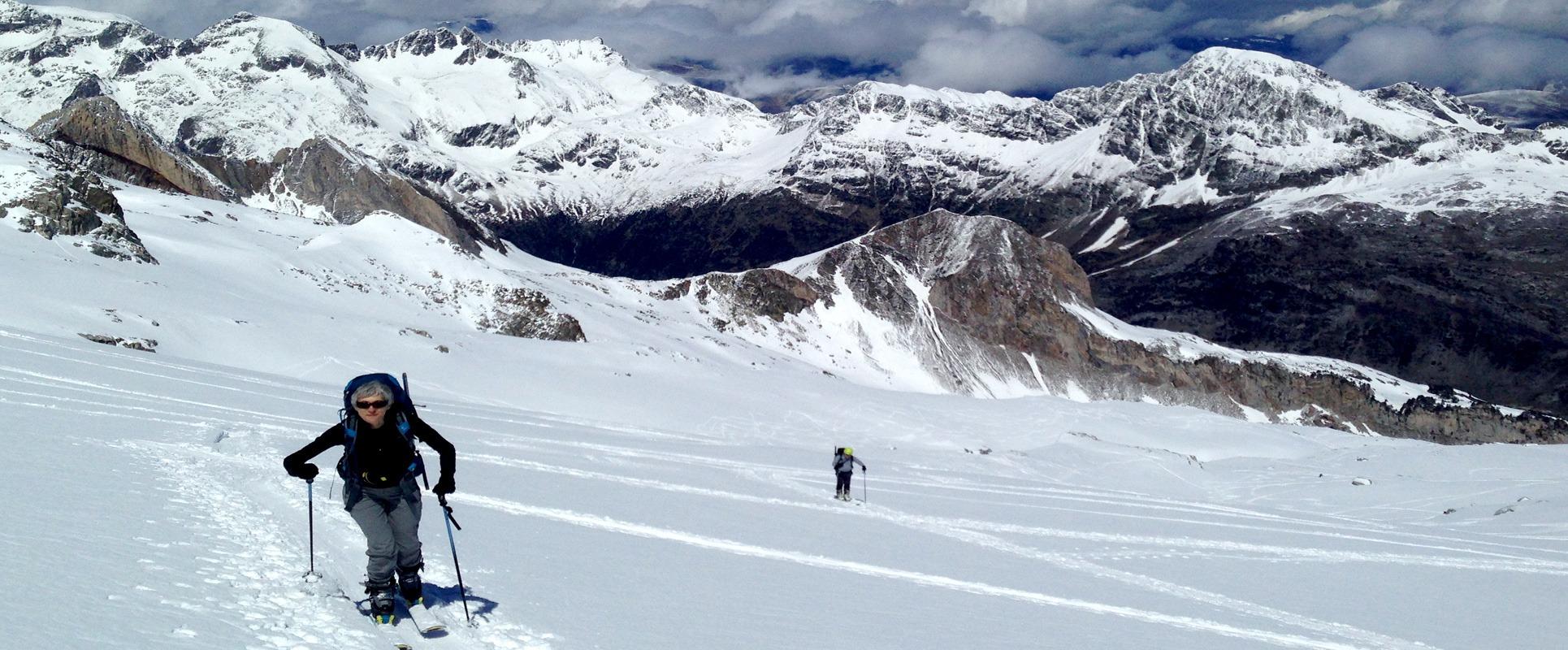 Esqui montana los pirineos