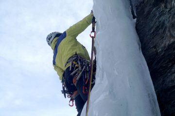 baptism ice climbing 1 day