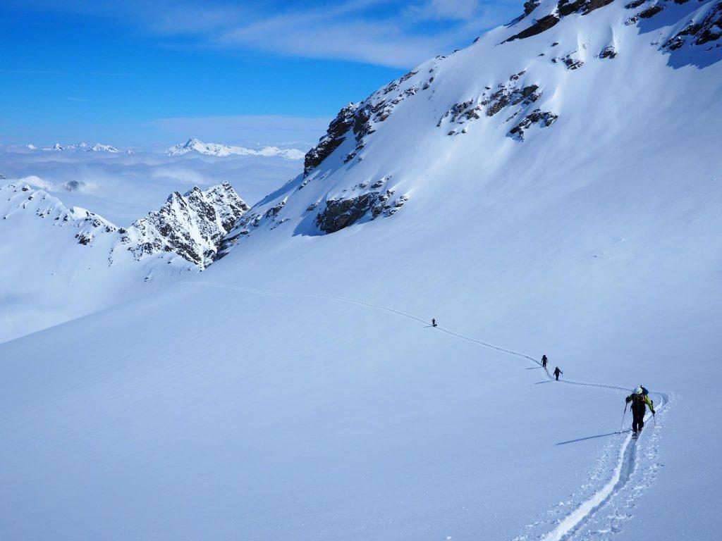 קורס סקי הרים, חוצה את הפירנאים
